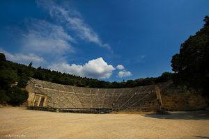 Epidauros - divadlo