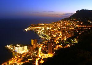 Noční Monako