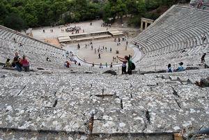 Divadlo - Epidauros
